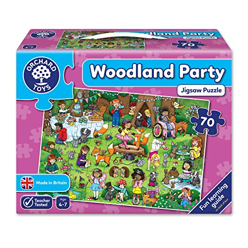 Orchard Toys Woodland Party Puzzle, englische Version