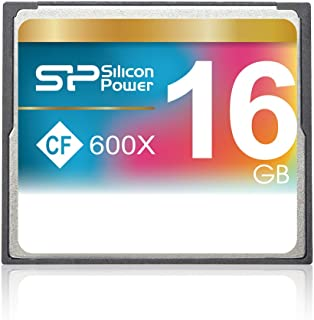 بطاقة ذاكرة فلاش مدمجة سعة 16 جيجابايت 600X من سيليكون