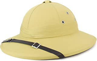 Armycrew French Style Pith Helmet Safari Hat