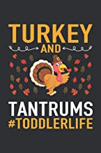 Turkey And Tantrums Toddler Life (Dream Journal Notebook): Dream Journal Notebook For Men, My Dream Journal Notebook