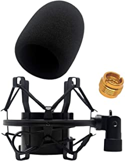AT2020 Foam Windscreen with Shock Mount by Vocalbeat – Mount Made from Quality..