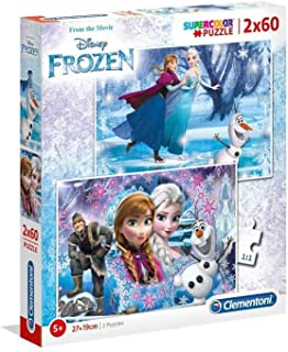 Clementoni Puzzle 2x60 Frozen