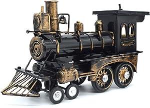 Sooye Diecast Model Locomotive Classic Locomotive Collectible Model Train Classic Home Decor (Locomotive)
