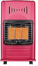 HMDJW Doméstica Gas Natural Tostado Estufa, Estufa Gas Licuado de Petróleo Calefacción, Cubierta rápido de Ahorro de energía de calefacción de calefacción de la Estufa en Invierno (Color : Red)