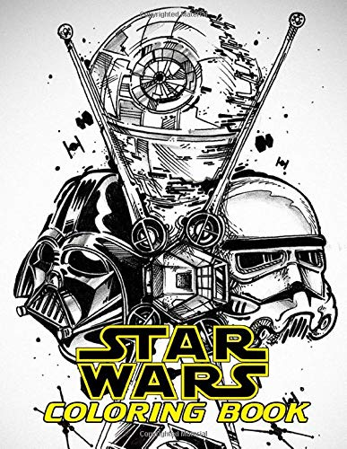 Star Wars Coloring Book Color All Characters In Star Wars With 50 Coloring Pages For Kids And Adults Buy Online In Indonesia At Desertcart Id Productid 163017846