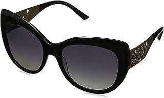 b9adc7b1dc Bulgari 0Bv8198B 5439T3 57 Gafas de sol, Negro (Black/Polargrey), Mujer