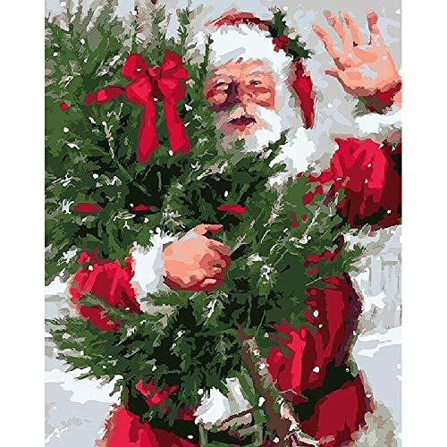 Rompecabezas de madera 1000 piezas Papá Noel Decoraciones y regalos únicos para el hogar