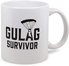 """Exclusive Call Of Duty: Warzone""""Gulag Survivor"""" Ceramic Mug   Official Video Game Collectible Coffee Cup   Drinkware For H..."""