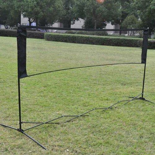 Broadroot Professional Training Square Mesh Standard Badminton Netz grün