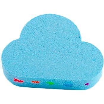 Rainbow Cloud Bath Bombs, Colorful Rainbow Cloud Bath Bombs, Lanzamiento Vivid Rainbow Color, Hidratar La Piel Seca Spa Bath Gifts 1 Pack de Jazmín: Amazon.es: Salud y cuidado personal