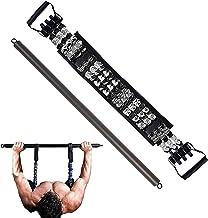 Sfeexun Weerstandsband Bar Bench Press Bands-verstelbare push-up banden met stang voor thuisgymnastiek Borstbouwer Arm Exp...