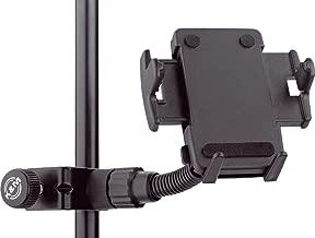 K&M Stands 19745-015-55 Smartphone Holder (Black)