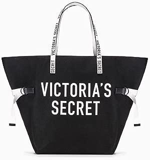 VICTORIA SECRET black & white - OVERSIZED beach bag TOTE BEACH BAG