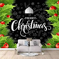 注文の壁の壁画壁の布のクリスマス柄ゲームルームの寝室の装飾子供部屋アートプレイゲーム壁画壁紙-400X280cm (157X110inch)