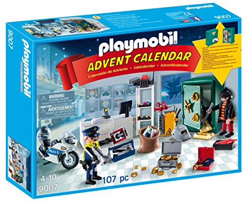 PLAYMOBIL - Calendario adviento Robo joyería 9007