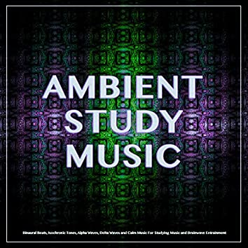 Ambient Study Music: Binaural Beats, Isochronic Tones, Alpha Waves, Delta Waves and Calm Music For Studying Music and Brainwave Entrainment