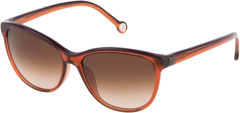 Carolina Herrera Designer Sunglasses SHE65301F3 in Brown 55mm