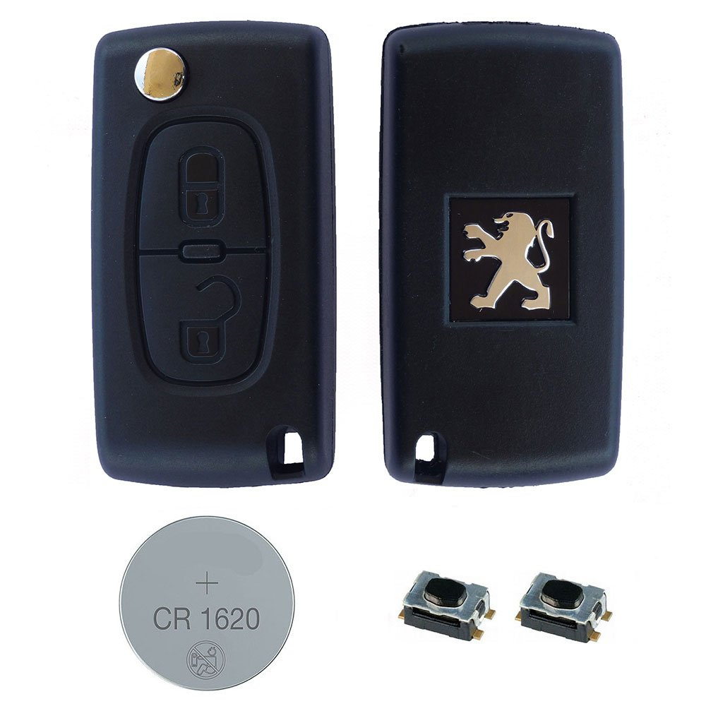 Genuine PEUGEOT PARTNER II 307 308 407 KEY CASE SHELL FOB 3 BUTTONS REMOTE