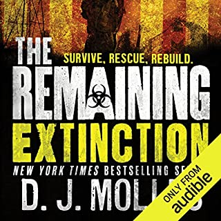 The Remaining: Extinction audiobook cover art
