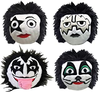 KISS faball Squeaky Toy Set