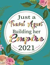 Just a Travel Agent Building her Empire: Cute Monthly and Weekly Planner, 12 Months Agenda with Holidays! Agenda Schedule ...