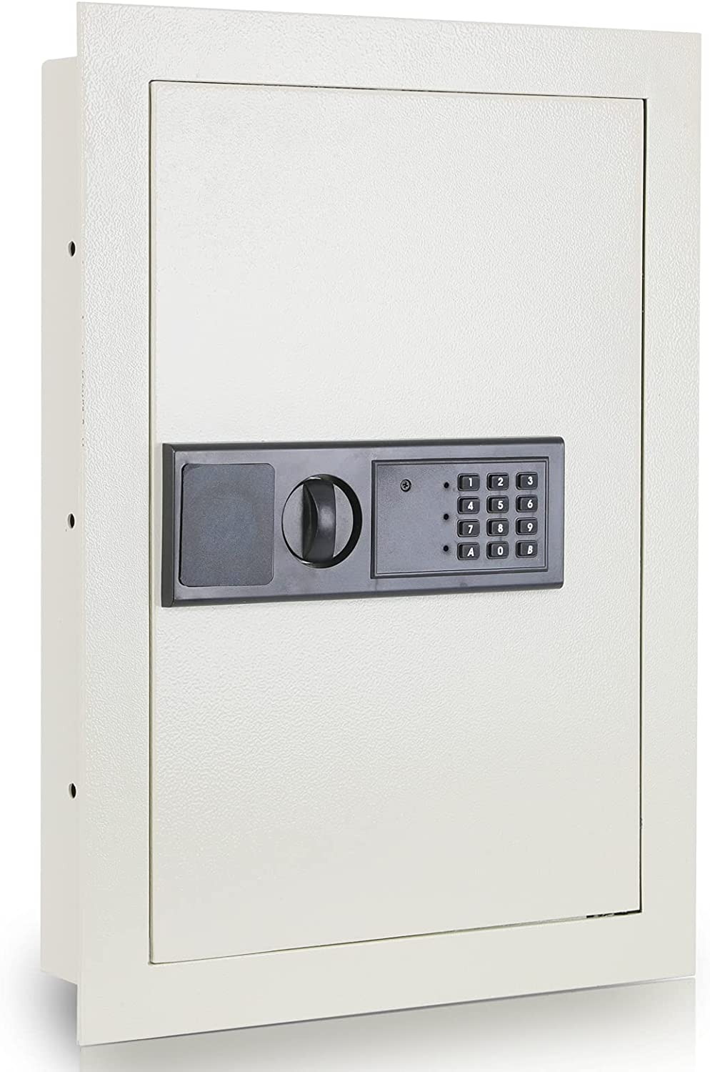 xydled Flat Wall Hidden Safe Security Box with Digital Electronic Lock, Wall Safe for Home Security, in Wall Gun Safe and Money Safe,WS003(Gray)