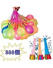 水風船 大量 888個(37個*24束)マジックバルーン 水爆弾 60秒で一気に作れる ォーターバルーン 水遊び玩具 夏祭り イベント用品