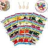 Perlas de agua, Bolas gel 24 Pack, Bolas hidrogel Multicolor, Water beads, Perlas bolas hidrogel,...