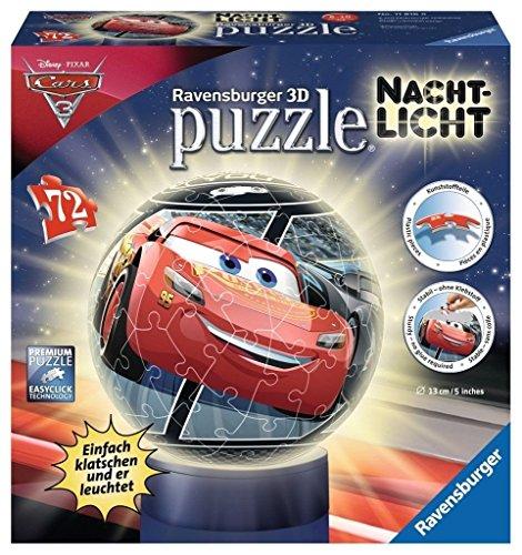 Ravensburger 11816 Disney Nachtlicht: Cars 3 3D-Puzzle