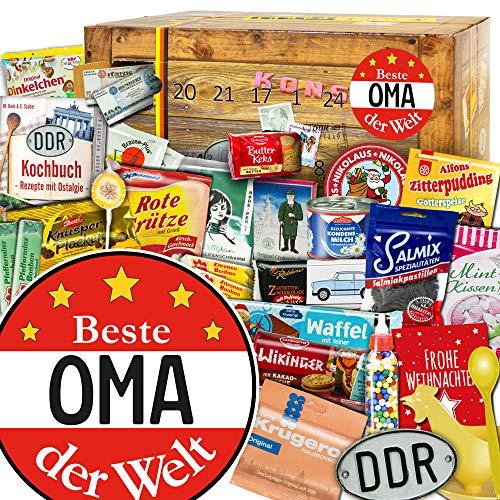 Beste Oma - Ost Adventskalender - Adventskalender nostalgisch