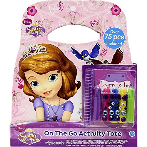 Disney Sofia the First On the Go Activity Tote
