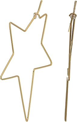 Rebecca Minkoff - Super Star Hoop Earrings