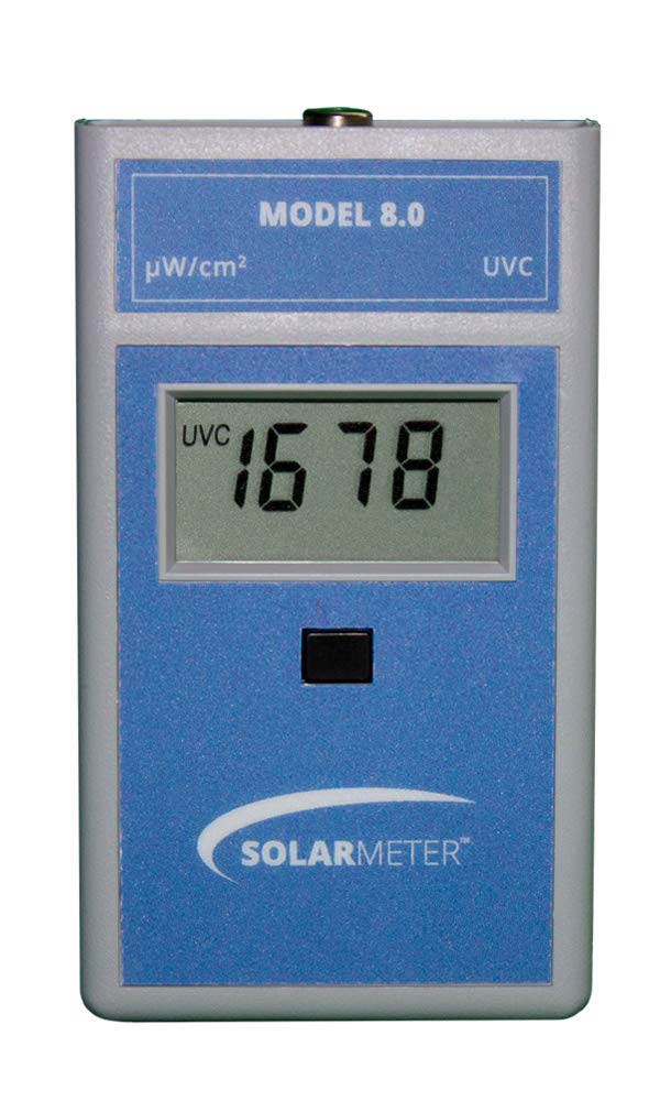 Attention brand Solarmeter Model 8.0 UVC Meter - + Range 254 Measures with shipfree -8nm