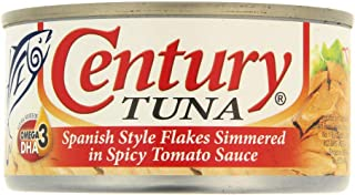 Century Tuna Flakes Caldereta, 6.4oz (180g) (Pack of 2)