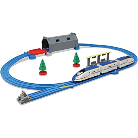 タカラトミー(TAKARA TOMY) プラレール トンネルを照らそう! ライト付E7系新幹線かがやき ベーシックセット W290×H230×D125mm