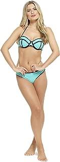 Tom Franks Ladies Neon Coloured Bikini Swimwear Blue - US 6-8 (UK 10)