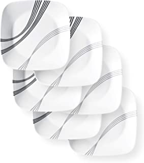 Corelle Boutique Lunch Plate Urban Arc 9in (22.5cm) 6 Pack