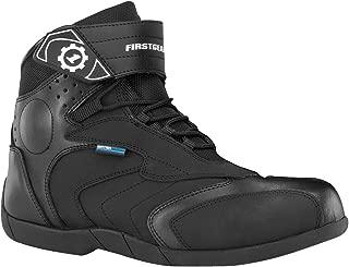 Firstgear Kili Lo Men's Motorcycle Boots (Black, Size 9)