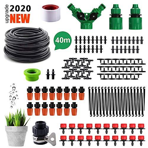 AUPERTO 40M 150PCS Bewässerungssystem Garten - Automatisch Bewässerung Kit mit Zerstäubungsdüse für Garten, Flower Bed, Terrasse Pflanzen