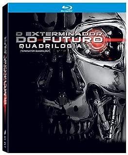 Blu-ray Quadrilogia O Exterminador do Futuro [ The Terminator Quadrilogy] [ Brazilian Edition ] [ Audio and Subtitles English + Spanish + Portuguese ]