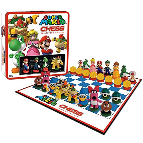 USAopoly Super Mario Chess Collectors Edition by