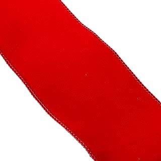 Homeford FR0092270W06510K Velvet Christmas Ribbon Wired Edge, 4