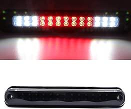 Third 3rd Brake CHMSL Center High Mount Stop Light LED Lamp for 1988-1998 Chevy Silverado / 1992-1998 GMC C1500 C2500 K1500 K2500 Suburban (Smoke)