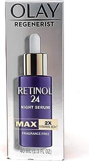 Olay Regenerist MAX Retinol 24 Night Serum with Vitamin B3, Fragrance Free 1.3 oz
