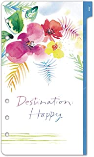 Kathy Davis for Day-Timer 2020 Weekly Planner Refill, 3-3/4