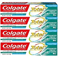 4-Pack Colgate Total Whitening Toothpaste, 5.1 Ounce