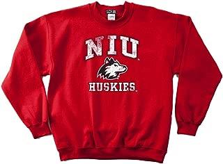 NCAA mens 50/50 Blended 8 oz. Crewneck Sweatshirt