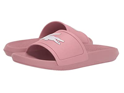 Lacoste Croco Slide 319 1 (Pink/White) Women