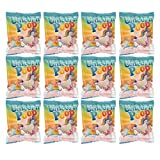 Unicorn Poop Marshmallow Candy 12 Pack Party Supplies Bag Favors for Kids