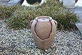linoows Wasserspiel Antike Amphore mit Pumpe Brunnen für innen und außen, Resin